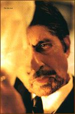 Amitabh Bachchan red eye look