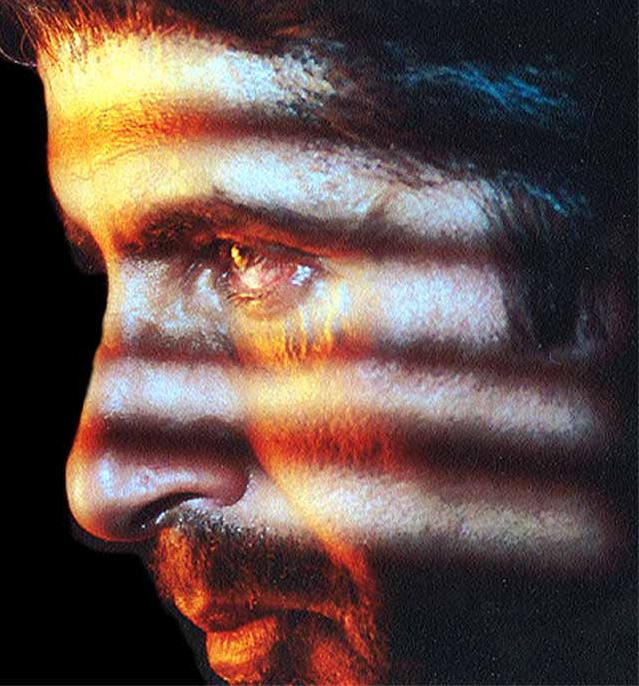 Amitabh Bachchan fire eyes look