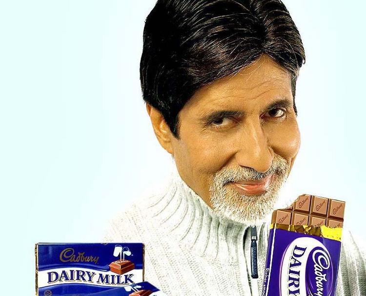Amitabh Bachchan Dairy Milk ads