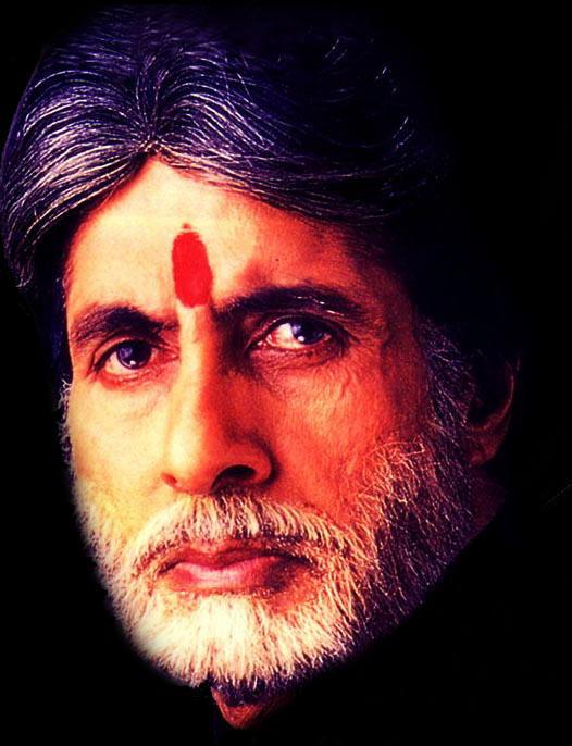 Amitabh Bachchan angry still