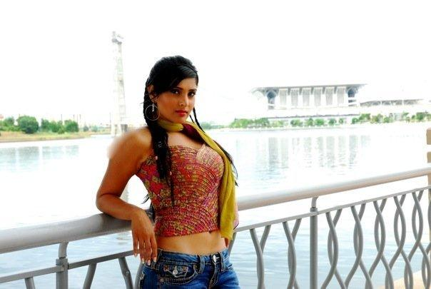 Ramya in jeans hot navel pose