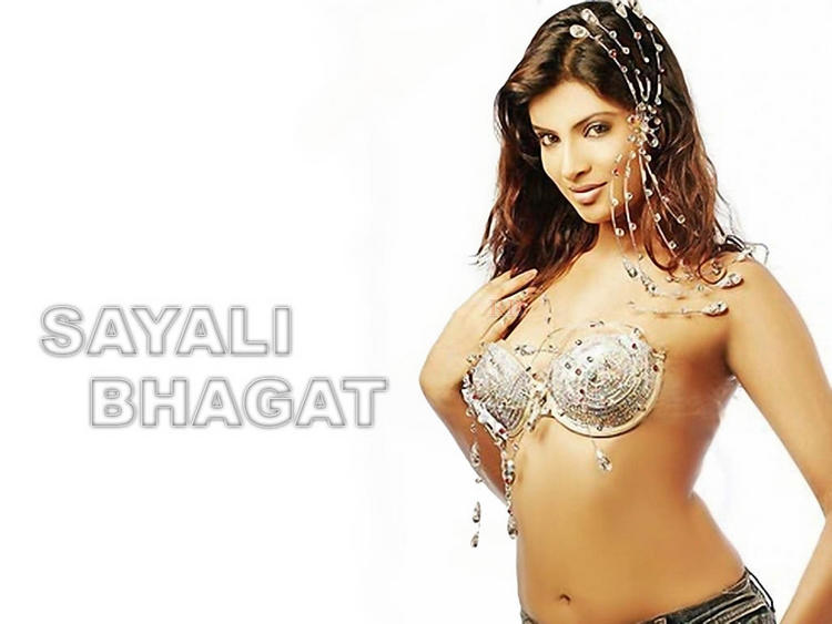 Sayali Bhagat in Wet Bikini