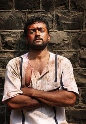 Rakta CharitraTelugu movie Surya kayadi still