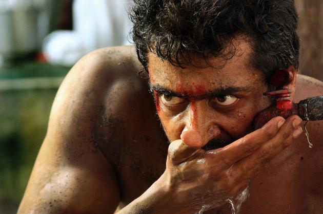 Rakta Charitra movie surya angry image