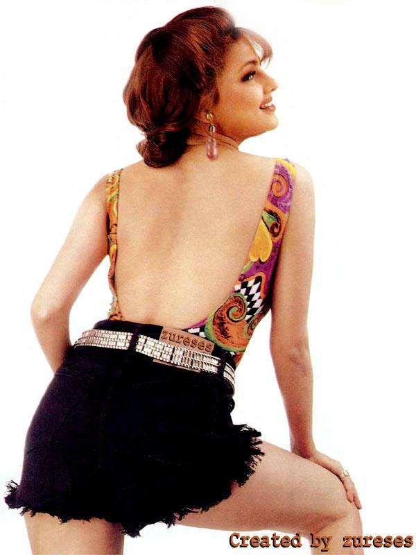 Mamta Kulkarni sexy back expose photo shoot