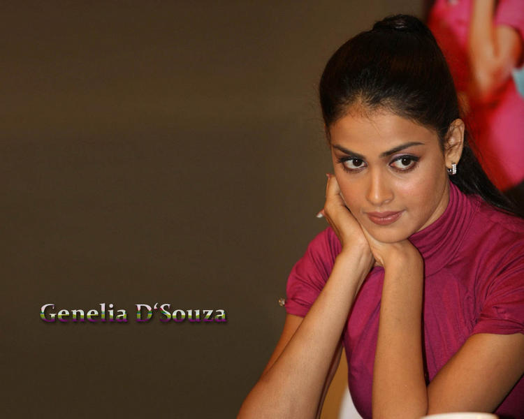 Cute Genelia Dsouza wallpaper