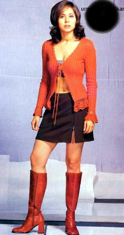 Urmila Matondkar mini dress hot still