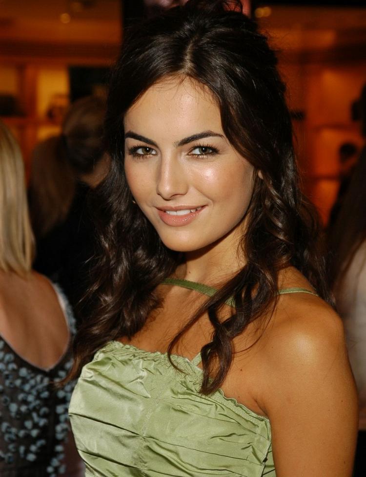 Camilla belle cute face rolling hair photos