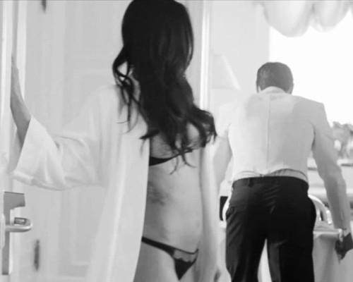 Megan Fox, Ronaldo In Steamy Armani Ads Pics