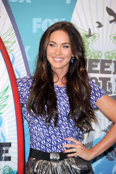 Megan Fox Long Hairstyles Latest Picture