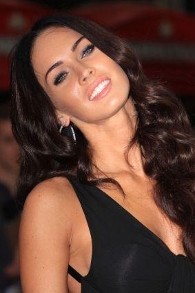 Megan Fox black dress spicy look