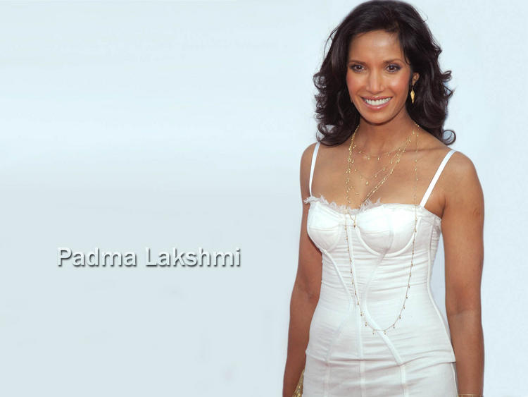 Padma Lakshami looking very gorgeous with white dress