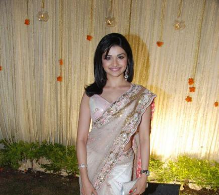 Prachi Desai at Vivek and Priyanka Alva's wedding reception