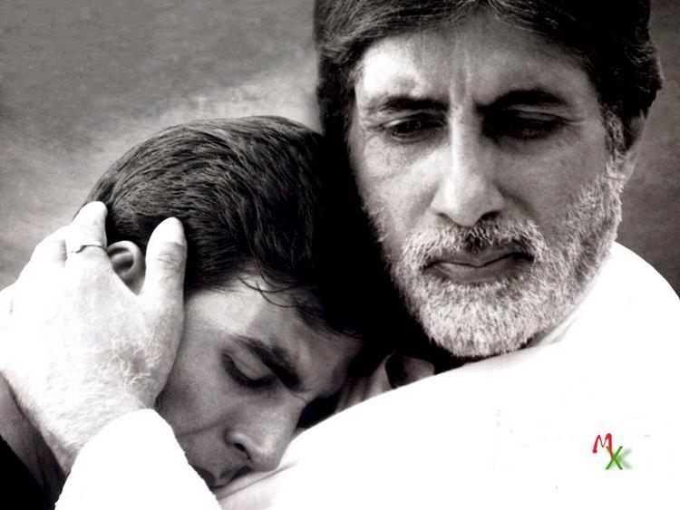 Akshay and Amitabh in Ek Rishtaa latest pic