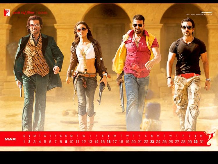 Anil, Kareena, Akshay and Saif stylist photo