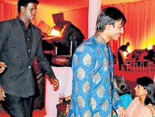 Vivek Oberoi at his wedding reception