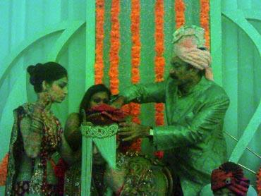 Vivek Oberoi Wedding Photo