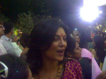 Sushmita Sen at the ceremony
