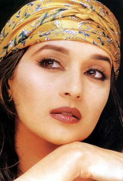 Madhuri Dixit sexy eyes wallpaper