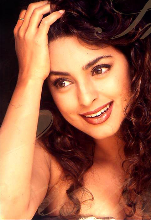 Sweet Juhi Chawla cute hot wallpaper