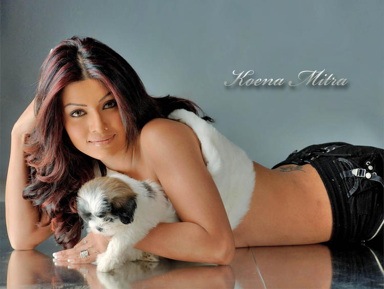 Koena Mitra  hot sexy wallpaper