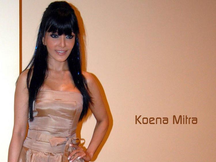 Koena Mitra hairstyle pic