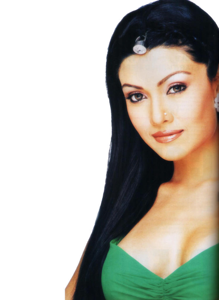 Koena Mitra cute face look wallpaper
