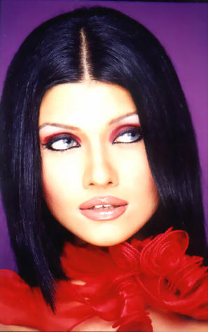 Koena Mitra spicy lips wallpaper