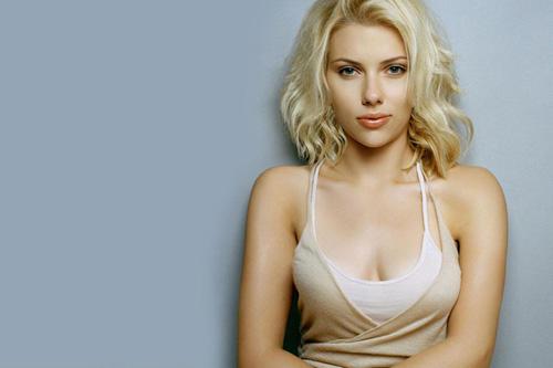 Scarlett Johansson sexy wallpaper