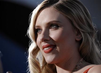 Scarlett Johansson glorious wallpaper