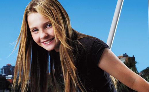 Abigail breslin cute long hair wallpaper