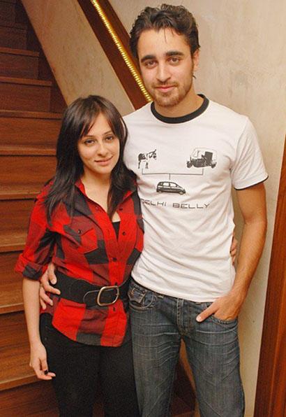 The newly married couple of Avantika Malik and imran khan