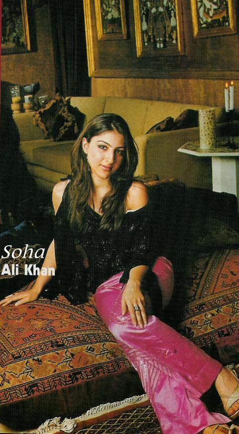 Soha Ali Khan- Hot and Cute