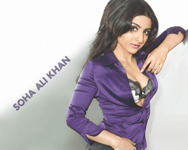 Soha Ali Khan hot and sexy look
