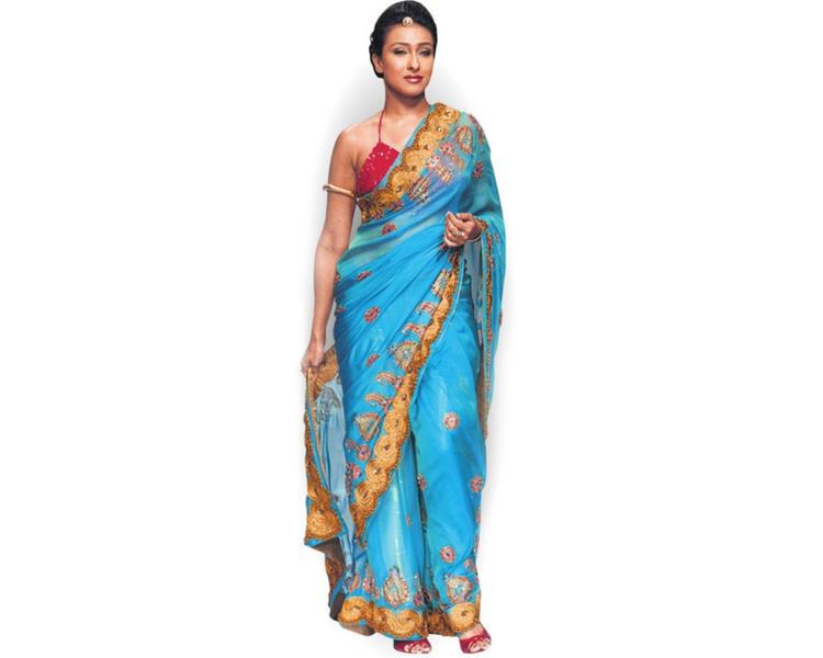 Rituparna Sengupta hot pose saree wallpaper