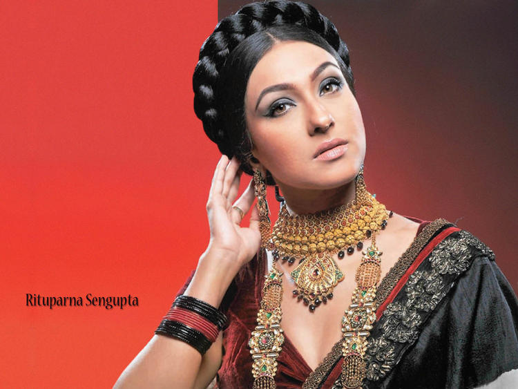 Rituparna Sengupta latest hair style wallpaper