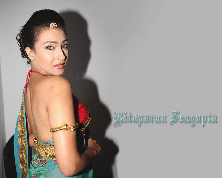 Rituparna Sengupta hot back exposing wallpaper