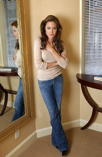 Angelina Jolie standing photos