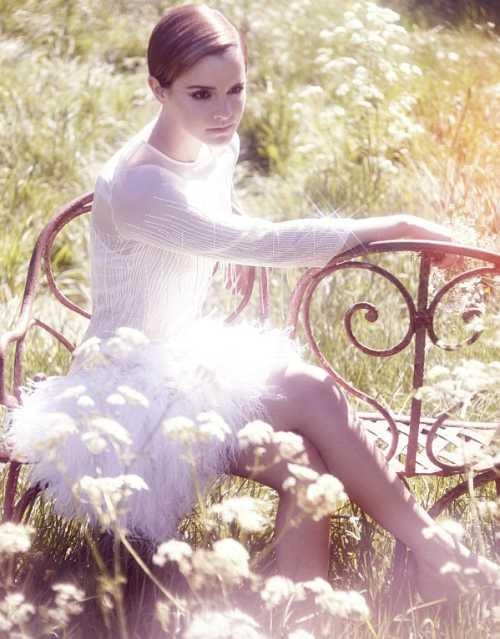 Emma Watson photo shoot for magazine