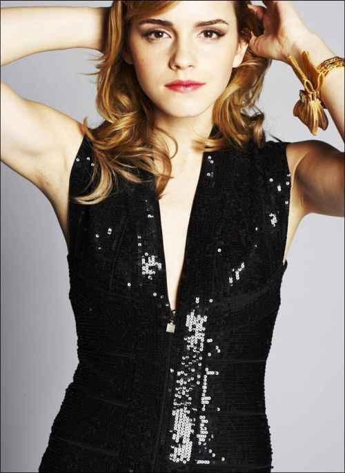 Sexy Emma watson glamour still