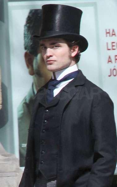 Robert Pattinson bel ami top hat