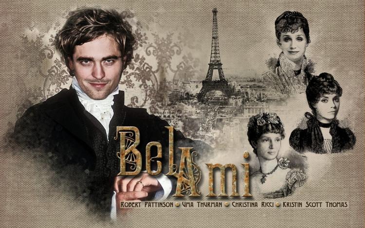 Robert Pattinson in Bel Ami movie wallpaper