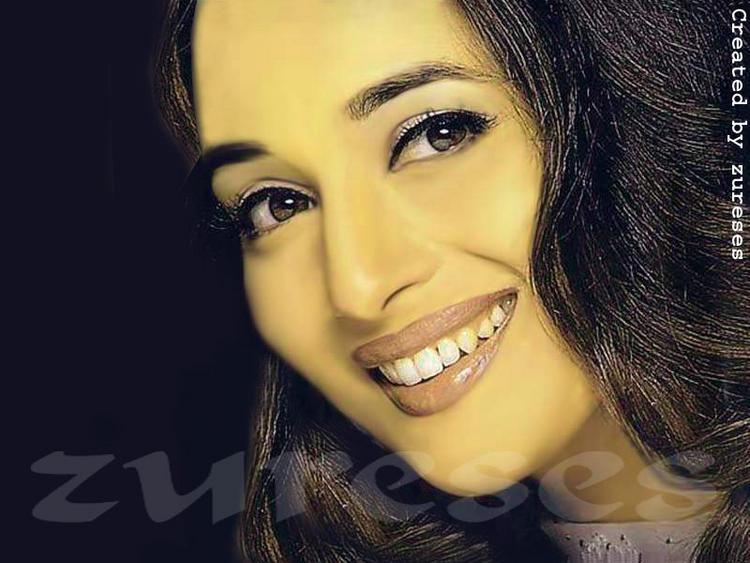 Madhuri Dixit's sweet smile