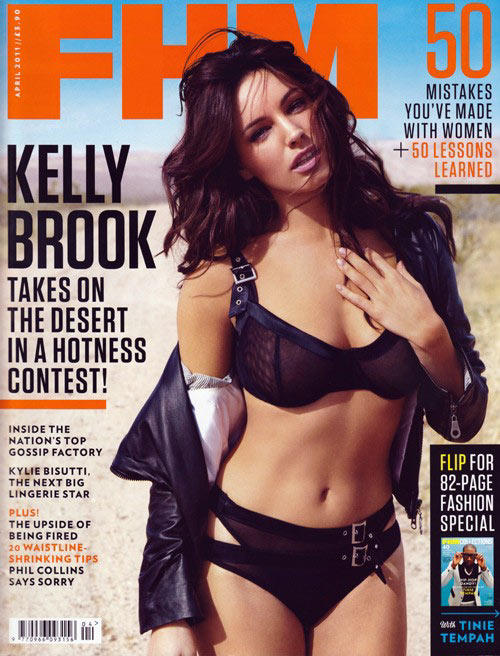 Kelly Brook hot in FHM magazine