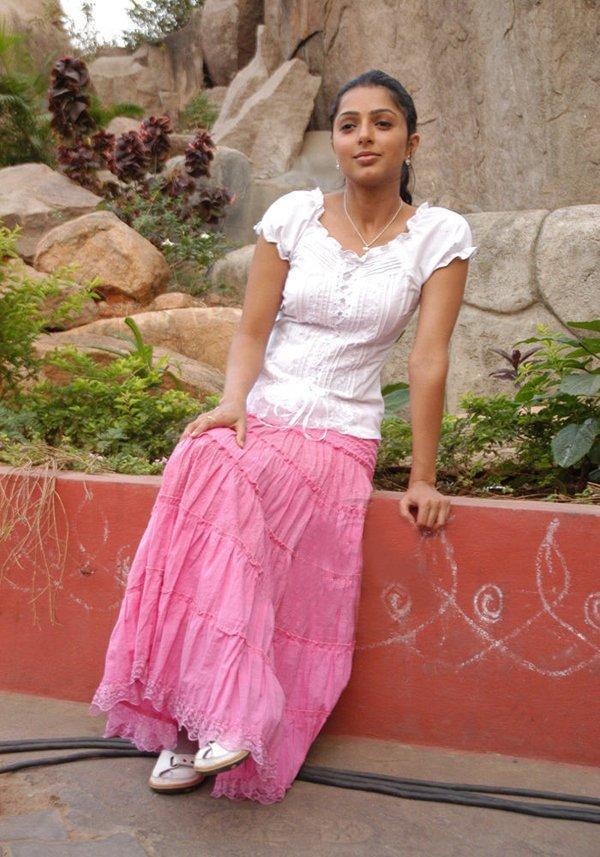 Bhumika Chawla refreshing herself