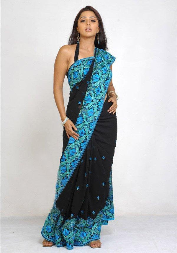 Bhumika in saree