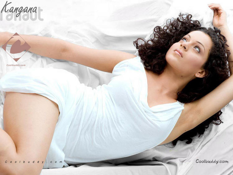 kangana ranaut white dress wallpaper