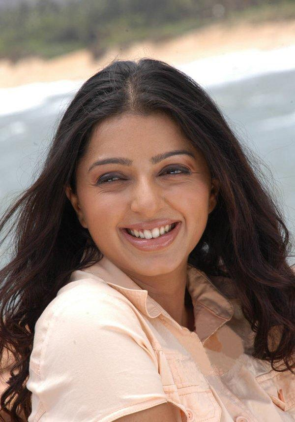 Bhumika's with open smilling