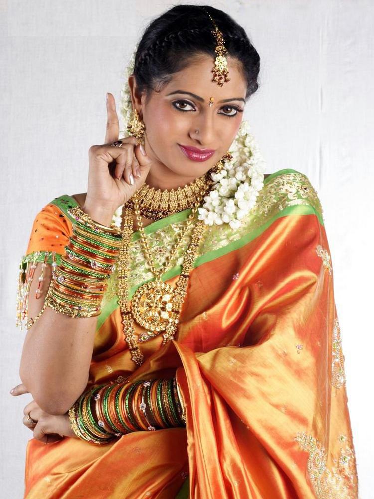 Udaya Bhanu cute beauty still