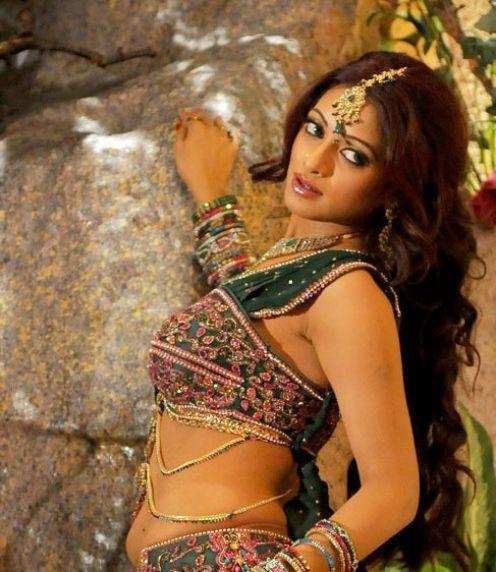 Udaya Bhanu long hair sexy photo